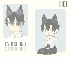 CYBERHUND unit 01 - SET PRICE [CLOSED] by demialien