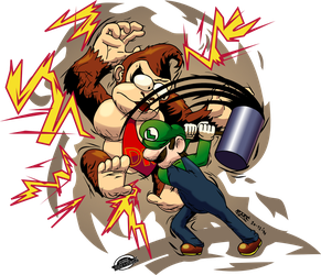 SMASH him right in the Kong! by MarkProductions