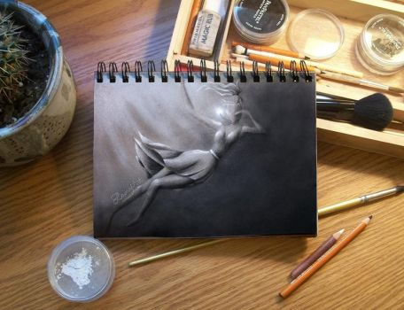 Sketch Journal - The Fall by secrets-of-the-pen