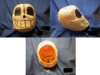 Cosplay sans mask (Step One) by ADoodlingpotato