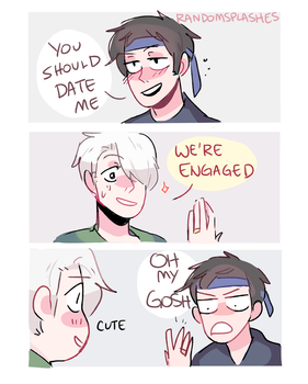 YOI: WE'RE ENGAGED by Randomsplashes