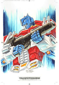 Optimus Prime #2 for Transformers IDW Limited V. 2 by REX-203