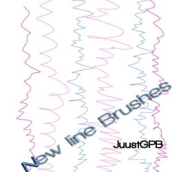 New line brushes by JuuustGPB