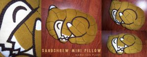 Sandshrew mini Pillow