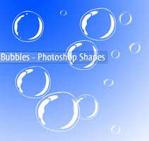 Bubbles Shapes by AngieVX
