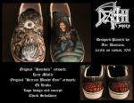 Death/Chuck Schuldiner Shoes by MabMeddowsMercury