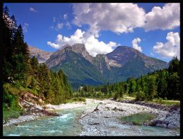 The Alps PARADISE 1 by mutrus
