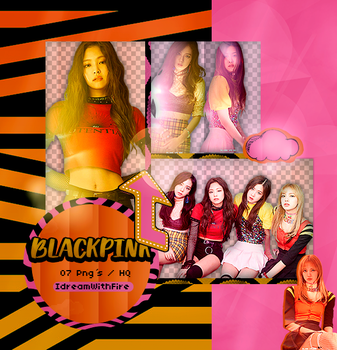 Pack Png 348 | BLACKPINK | #7 by IDreamWithFire