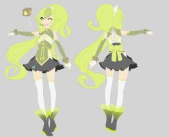 Utau design commission for holiiewood by sounds-like-balloons