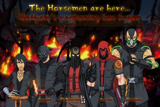 [Earth-27 Rosters] The Horsemen by Roysovitch