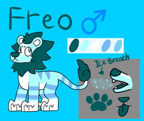 Freo Ref Sheet by FelineK9er