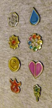 Glassy Kanto Badges (printed, cut, and glossed) by icycatelf