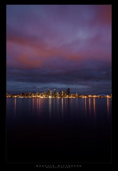 Seattle  Cityscape 2007 by mysteriumtremendum