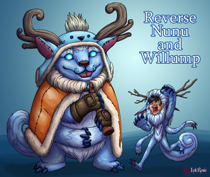 Reverse Nunu and Willump by InkRose98