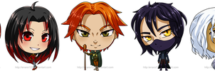 Chibi group_commission by Enara123