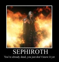 Sephiroth Demotivation Poster by Lycan-wolf96
