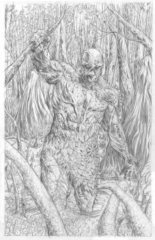 Swamp Thing by Thingvold