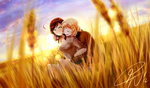 [Secret Santa 2012] Fields of gold by LillayFran
