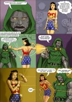 TLIID Convergence Wonder Woman versus Doctor Doom by Nick-Perks