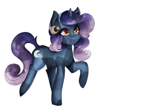 Moon Cradle - OC by Akemiarts1