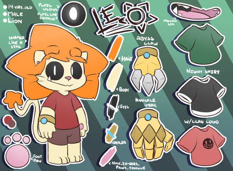 Leo Ref~ by LeoTheLionel