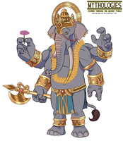 Mythologies - Ganesha 2018 by HewyToonmore