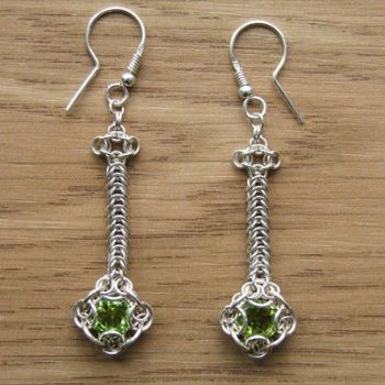 Peridot earrings by rogaty