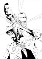 Iron Man by the-real-ronin-X