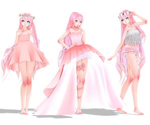 MMD Luka Pack DL [100 Watchers!!!] by JadeRockability