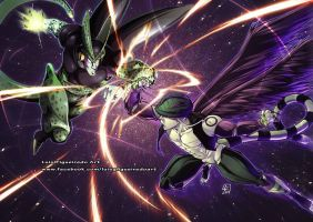 Cell V Meruem Collab by Signsoflifeonmars