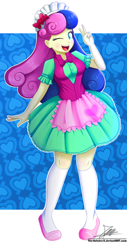 .:Candy Girl:. (Commission) by The-Butcher-X