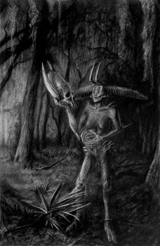 Demon of the Wood II by quickmind