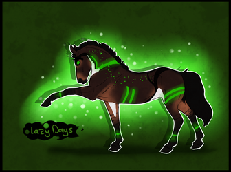 5204 NGS Lazy Days - BioHazard Mare by KimboKah