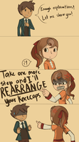 Rearranging kneecaps by KatInATopHat