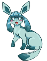 Glaceon by LucentezzaTC