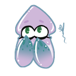 [S.S.] Loni Squid Sticker by OpalesquePrincess