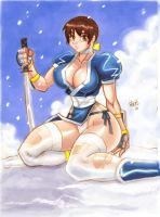 Kasumi Dead or Alive by ONELOUSYCAT