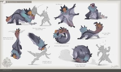 MH:World - Donkestra Animation Sheet by SamSantala