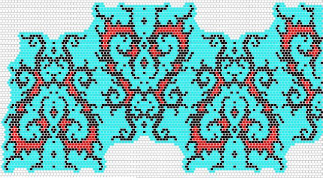 Pattern for Silverthorn by Ellygator