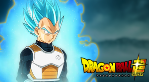 Super Saiyan Blue Vegeta (Aura/BG) by AubreiPrince