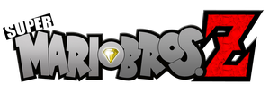 Super Mario Bros Z Modified Logo by AsylusGoji91