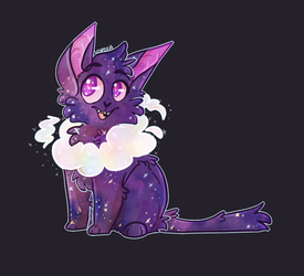 Space Cat by Keapoki