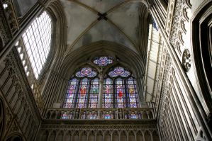 Cathedral of Bayeux - window by UdoChristmann