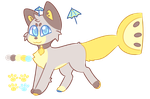 Cat Lemon Fish Adopt by royalraptors