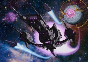 Galvatron's Armada low res by BDixonarts