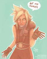 Cloud Strife by Hyzave
