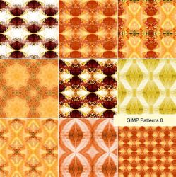 Gimp Patterns8 by marthagose
