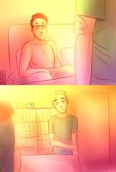[speedpaint] Septiplier: One Night Stand by ChloesImagination