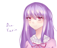 [art-trade] Karin by Greenicecream-chan