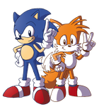 DD: Classic Sonic 'n'Tails by ThePandamis